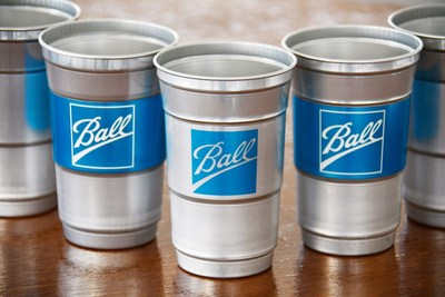 Ball Corporation aluminium cups