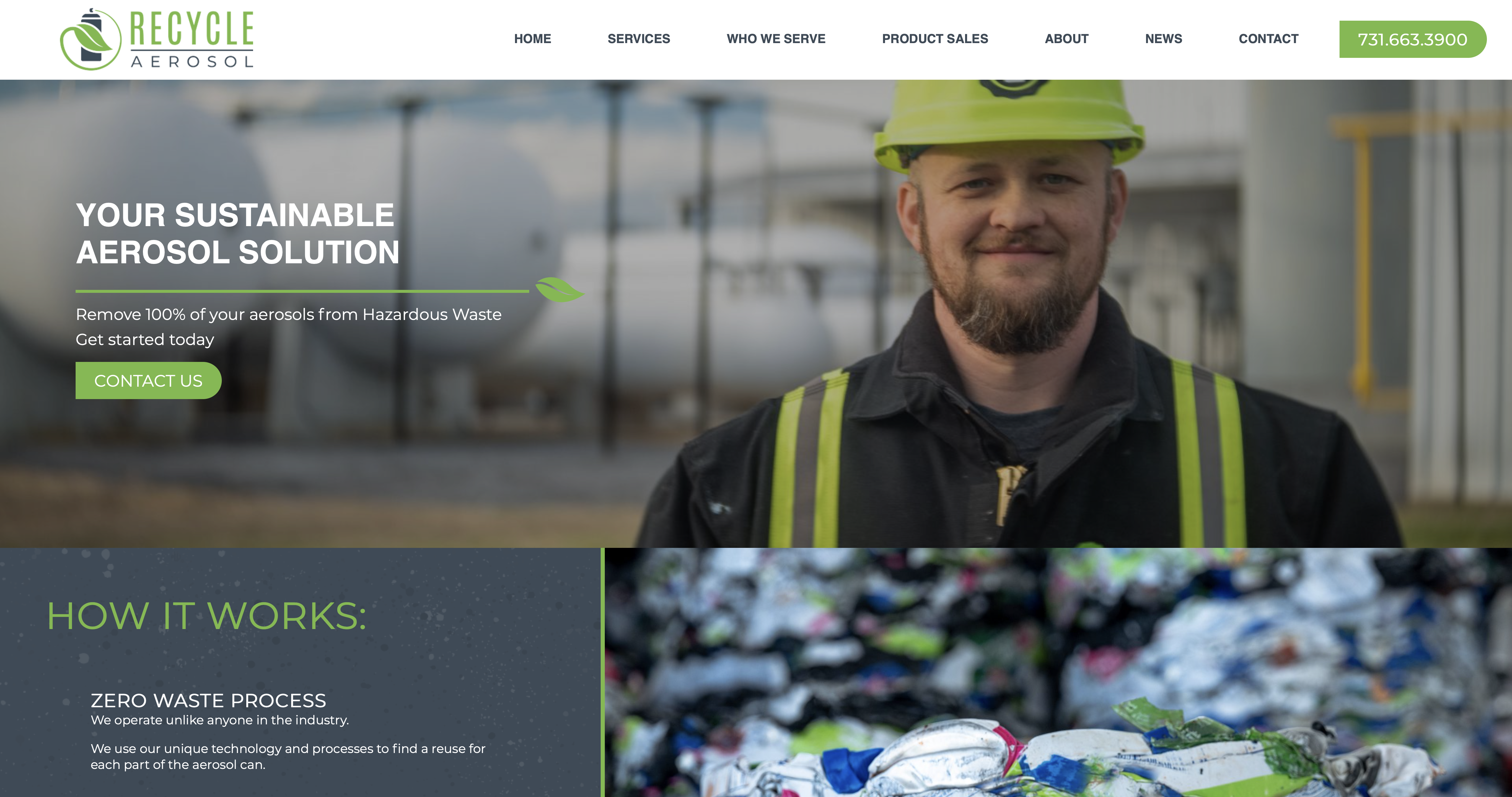 Image: Recycle Aerosol